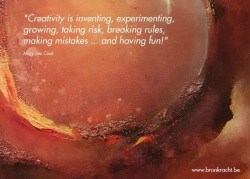 Creativity is ...